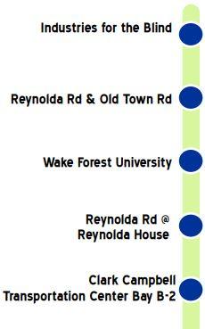 Route 88 Legend Graphic